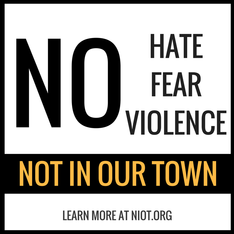 No Hate, No Fear, No Violence