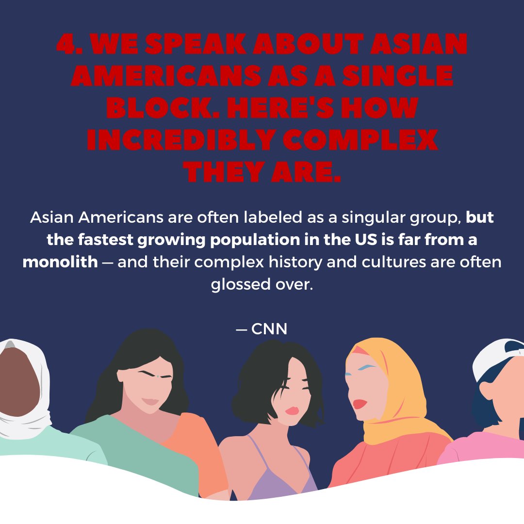 Five things to know this week. Asian Americans are far from a monolith