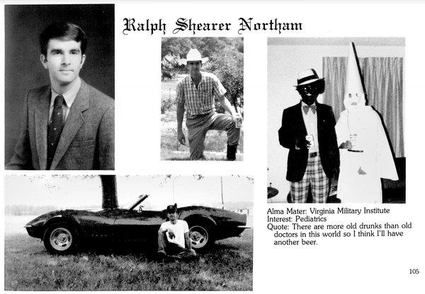This is Ralph Northam's page in his 1984 Eastern Virginia Medical School yearbook. (Credit: VCU Capitol News Service, Flickr CC 2.0)