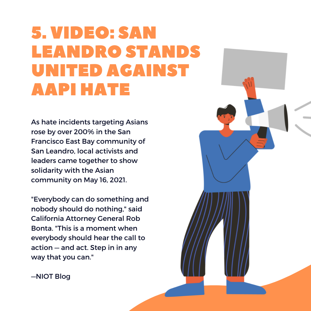 5 things to know this week, San Leandro stands up to AAPI hate - July 15, 2021