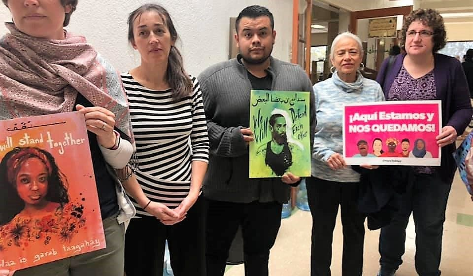 San Jose Islamic Center gathering to support Muslim community after the Christchurch massacre. (Credit: Photo courtesy of South Bay Islamic Association)