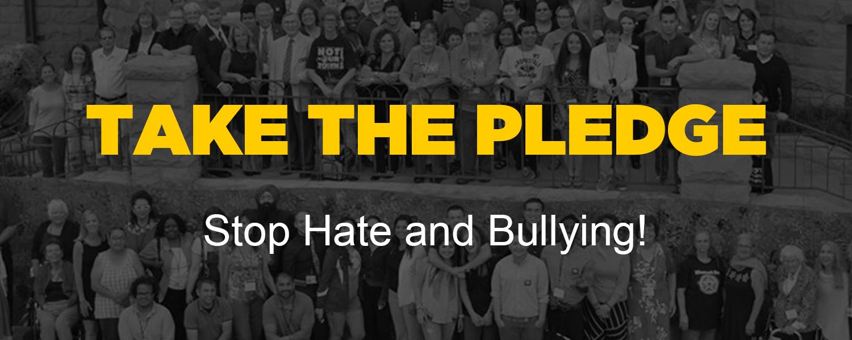 Pledge, Stop Hate, NIOT