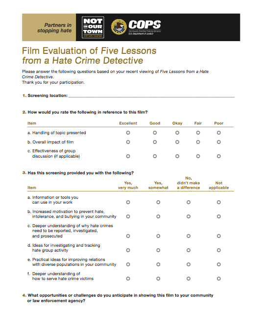Lessons Evaluation