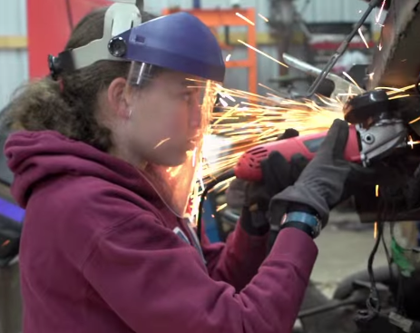 Young Female Engineer Breaks Down Stereotypes