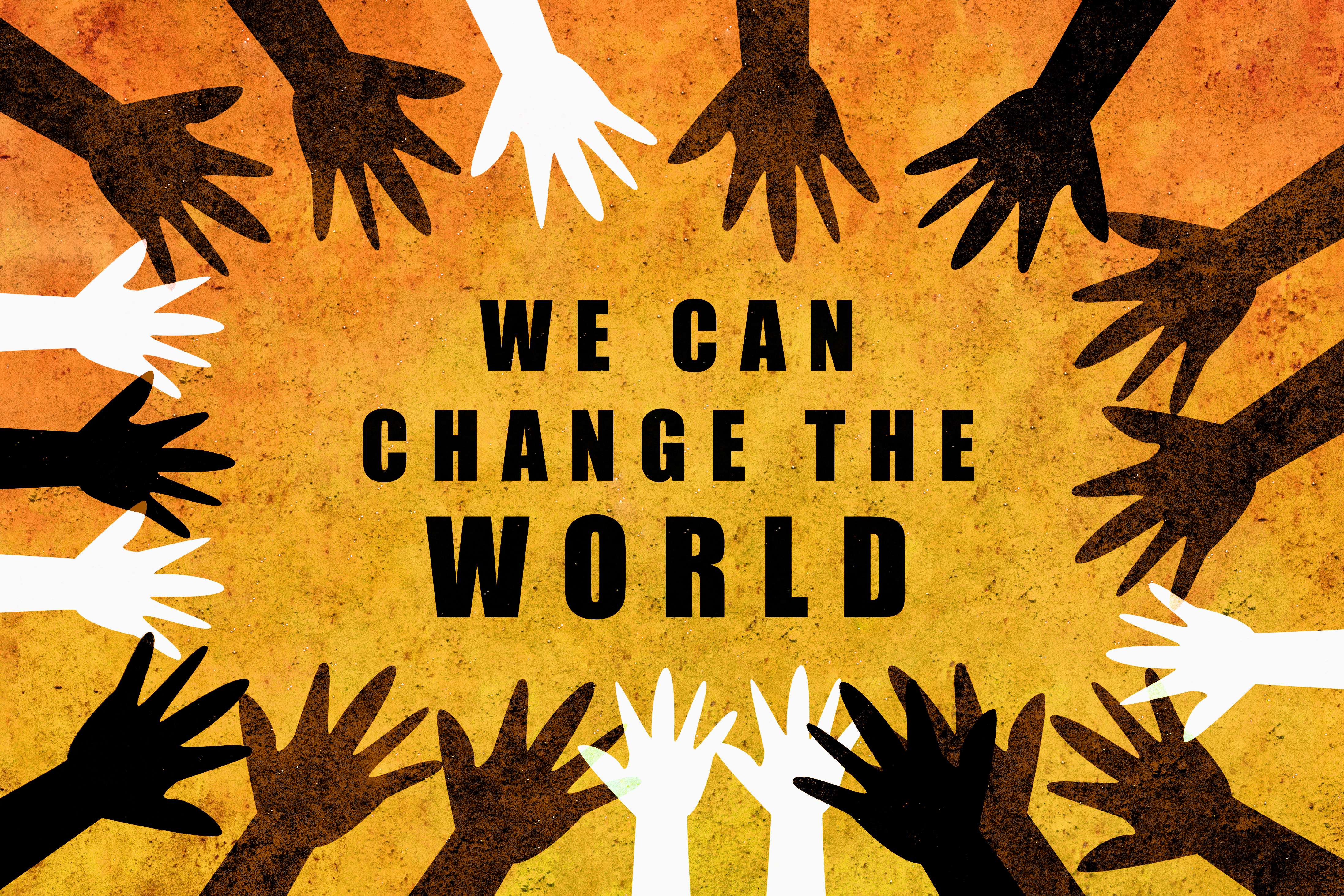 hands we can change the world