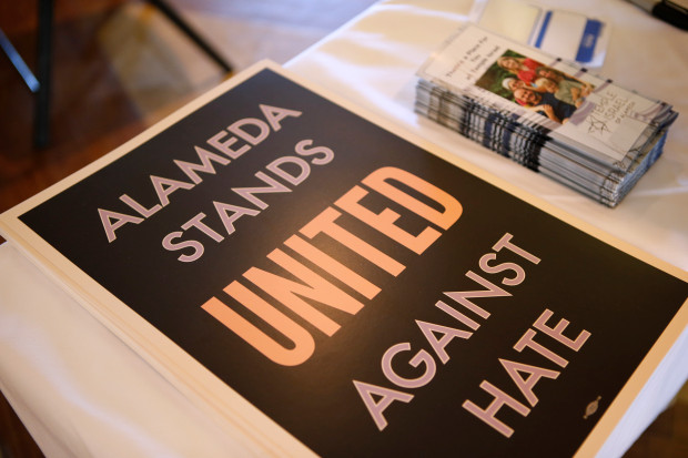 Alameda stands against hate