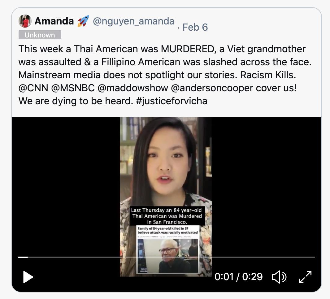 Amanda Nguyen viral tweet - Click to watch