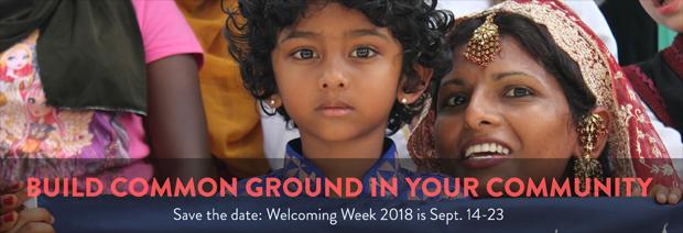 Welcoming Week is Sept. 14-23, 2018 - banner
