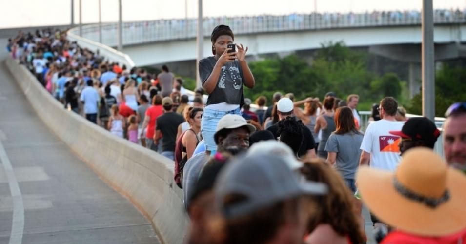 Ravenel Bridge, Charleston, Solidarity