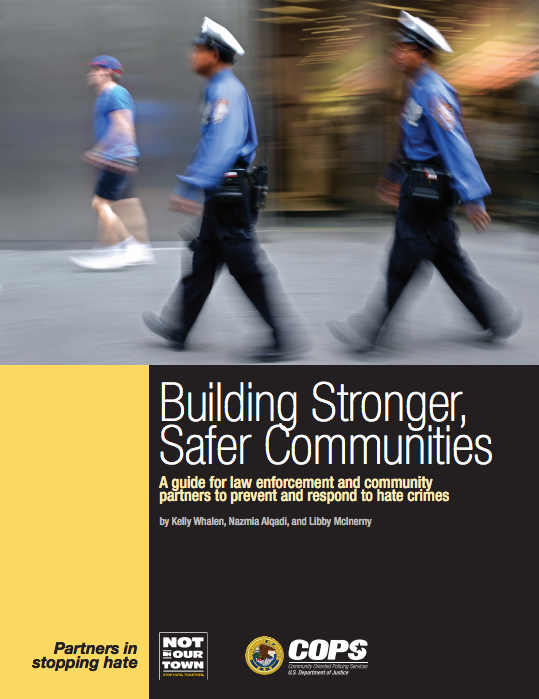 Building Stronger Safer Communities Cover