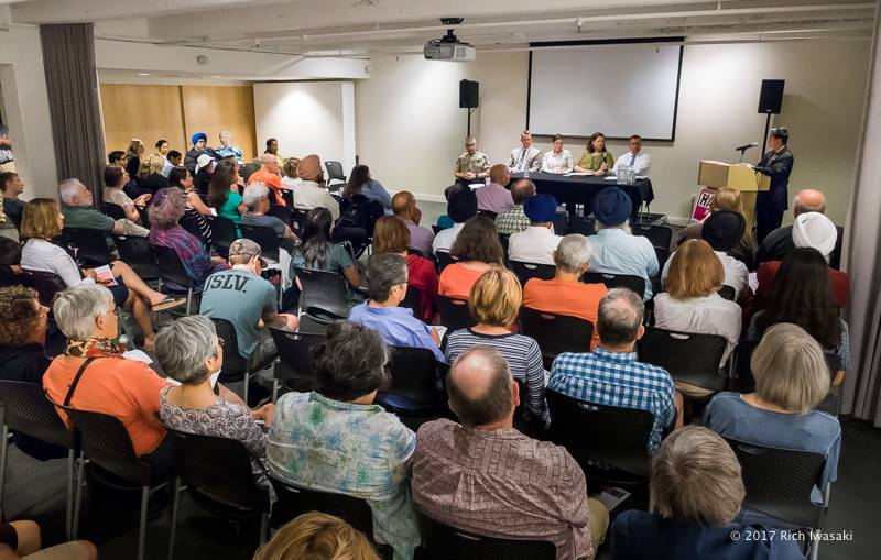 On August 12, the Coalition Against Hate Crime, with the assistance  of the Department of Justice – Community Relations Service, held a free forum, entitled How We Respond to Hate.
