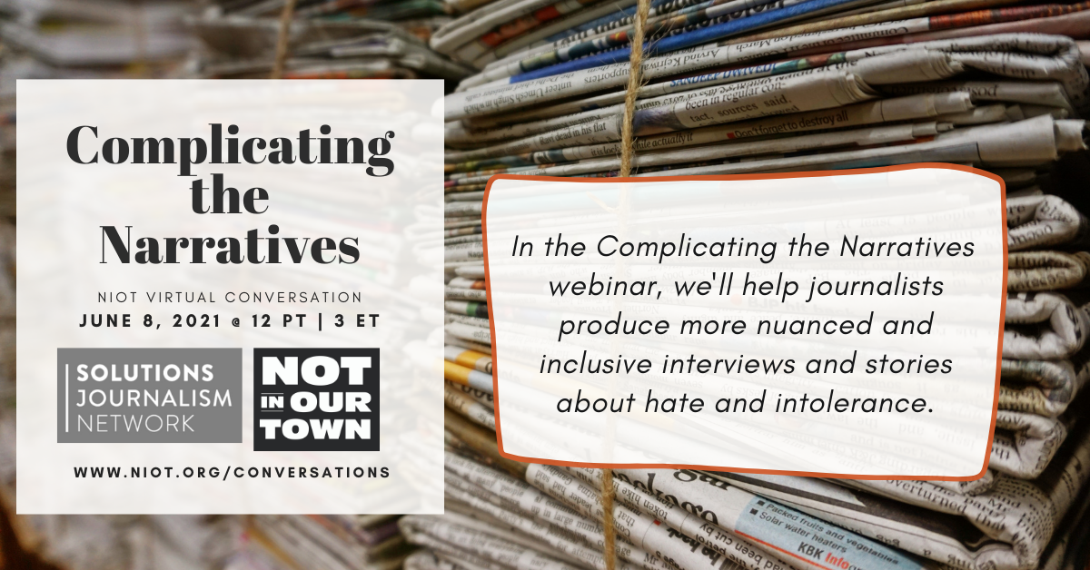 Complicating the Narratives - A Solutions Journalism Initiative