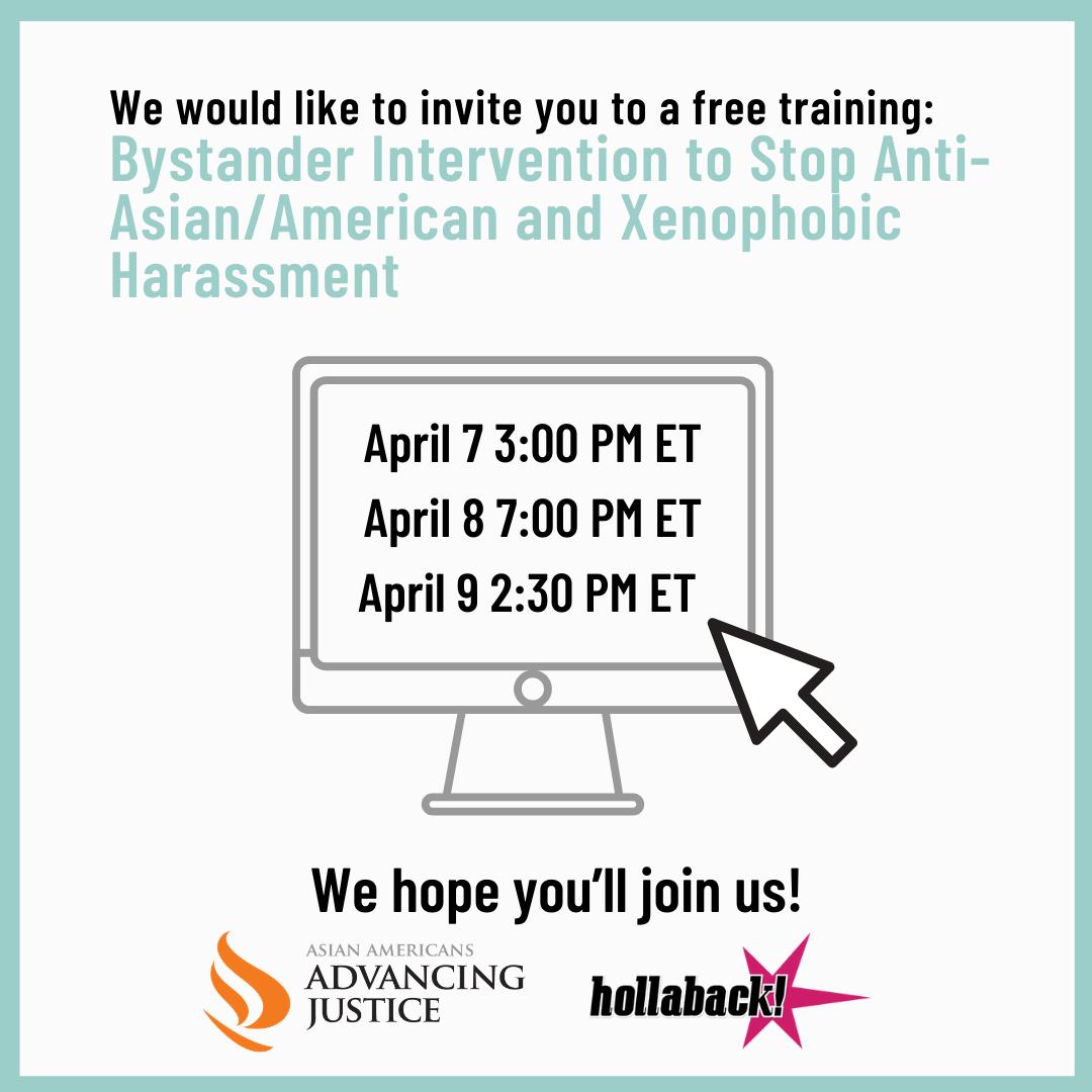 Virtual Bystander Intervention Trainings