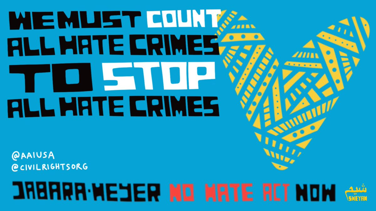 We must count all the hate crimes in order to understand the breadth of the problem. The Jabara-Heyer NO HATE Act