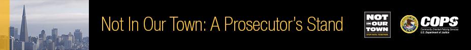 A Prosecutors Stand