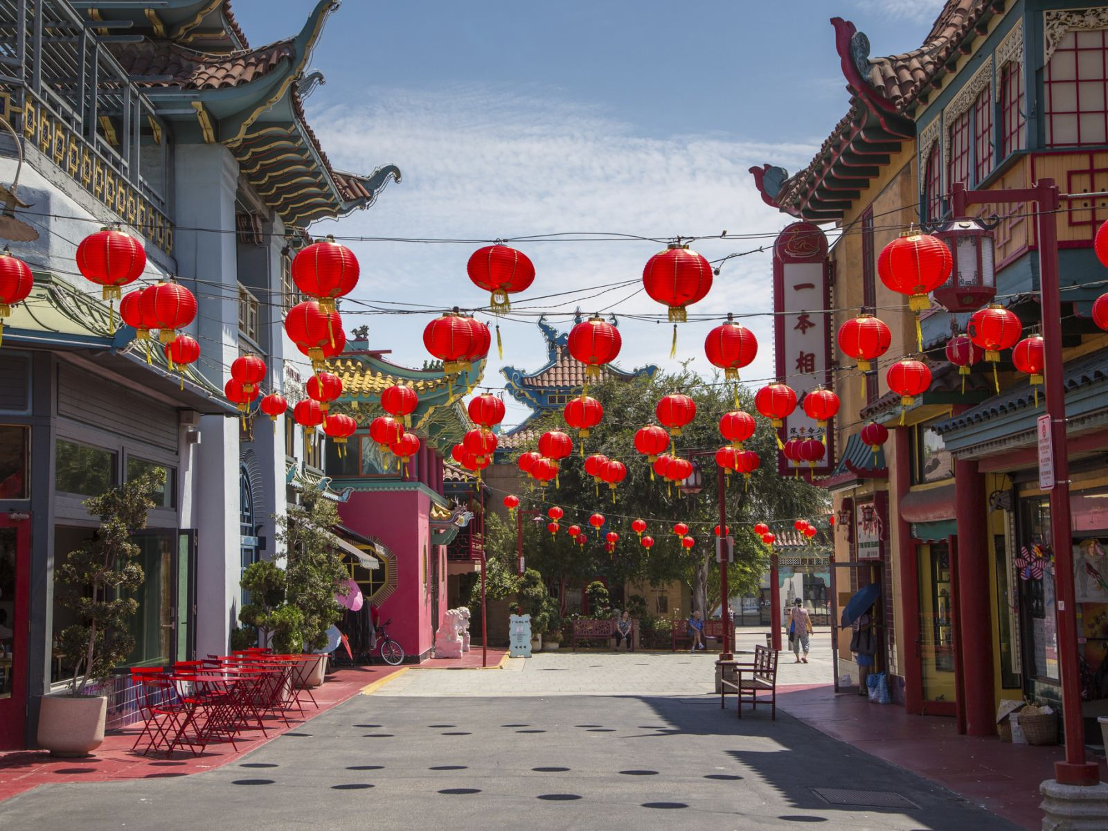 Los Angeles Old Chinatown