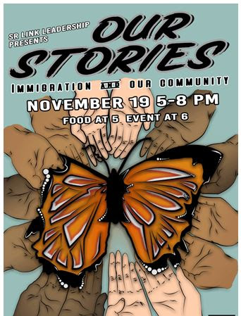 Our Stories Immigration in Our Community Poster