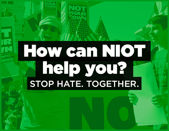 How can NIOT help you? Stop. Hate. Together.