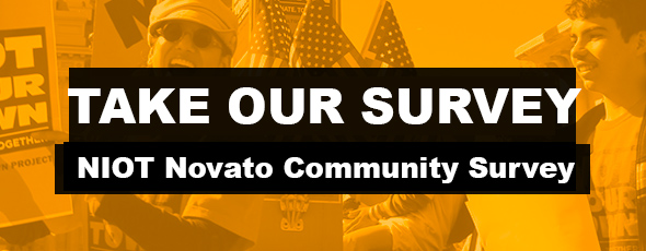 Take the NIOT Novato Community Survey - Click Here