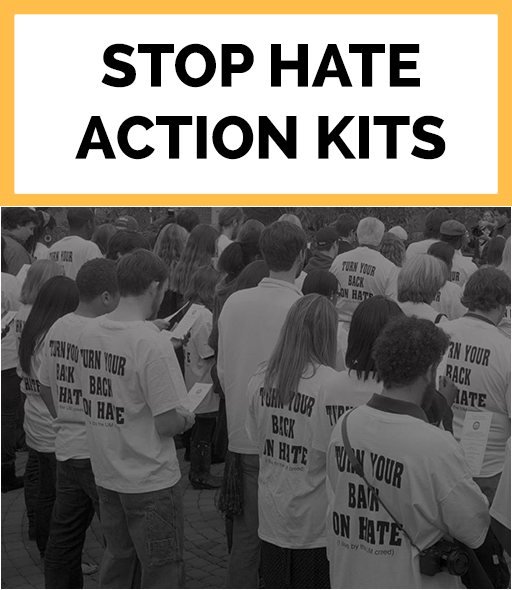 Download Stop Hate Action Kits
