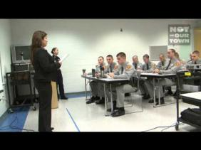 Spanish Lessons for Police Cadets