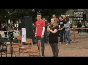 Gunn High School Sings Away Hate Group