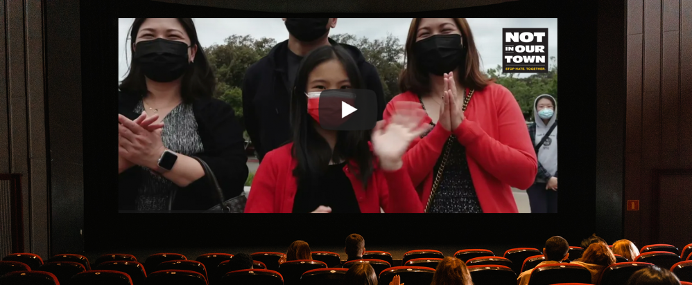 Still from San Leandro Stands Against AAPI Hate film