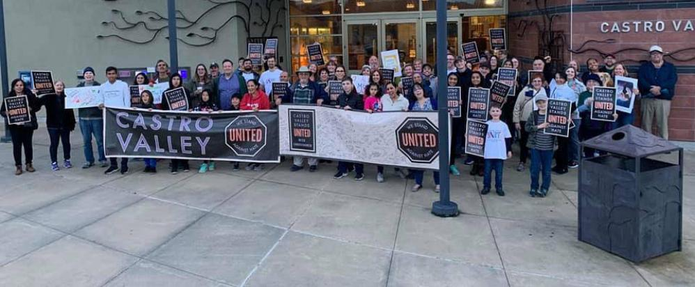 Castro Valley, CA Stands UNITED Against Hate, Castro Valley Stands UNITED With Christchurch.