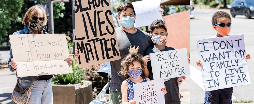Novato Black Lives Matter March (Credit: Maya G Photography)