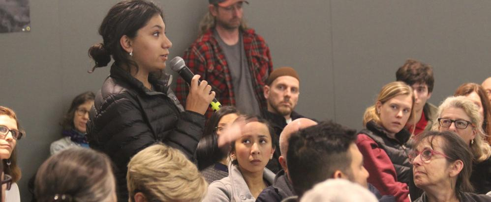 Community members share their experiences at the 2014 NIOT National Gathering in Billings, MT.