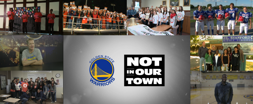 Golden State Warriors and Not In Our Town