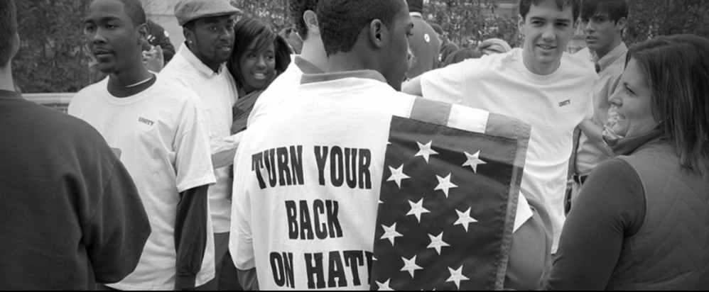 Turn your back on hate