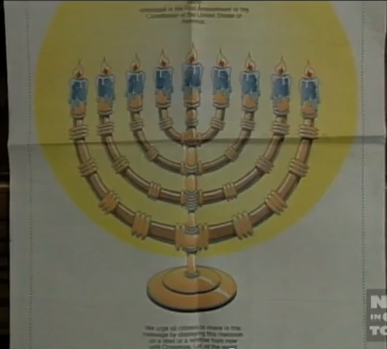 Billings Gazette Menorah