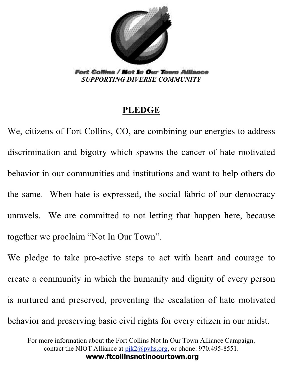 Ft_Collins-pledgecrop Church Pledge Letter Template on fundraising donation, event invitation, donation receipt, anniversary invitation, position resignation, membership resignation, for welcome, good standing,