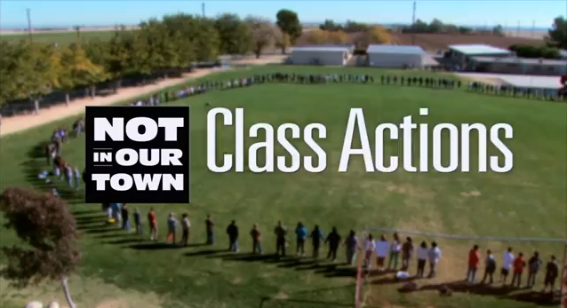 Not In Our Town: Class Actions