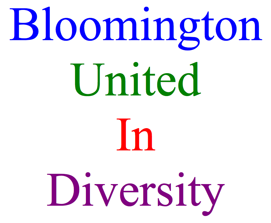 Bloomington United in Diversity