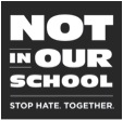 not in our school stop hate together logo niot nios