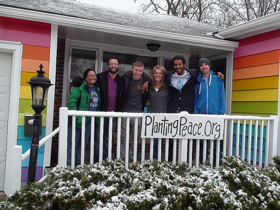 westboro hate group, planting peace, topeka, kansas, not in our town, aaron jackson, rainbow house